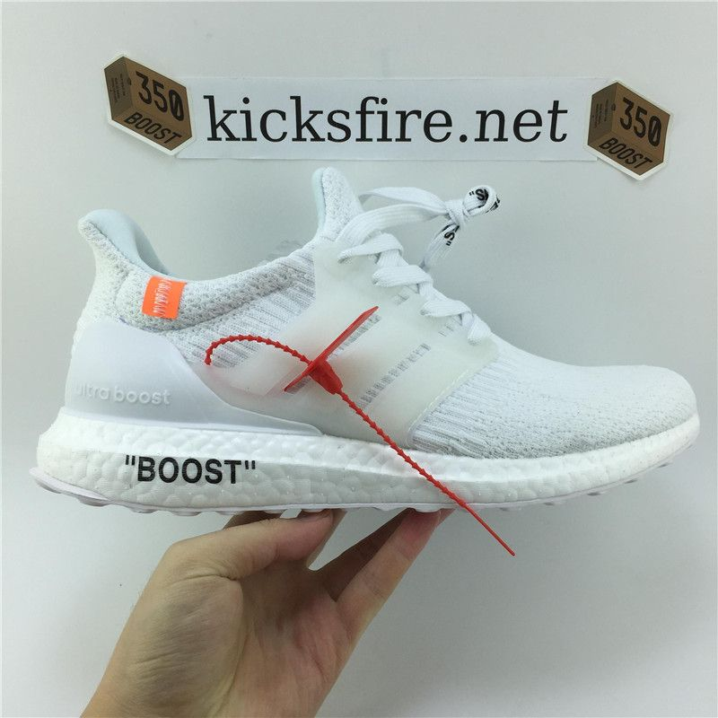 281e0256c6f9 Off White x Adidas Ultra Boost 3.0 Triple White BA8841 From Kicksfire.net