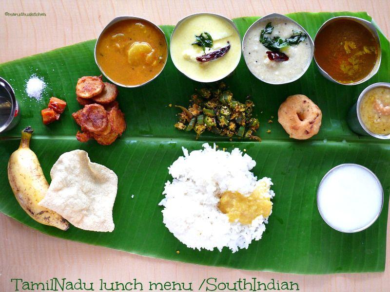 Tamilnadu food items of india pinterest lunch menu food food forumfinder Images