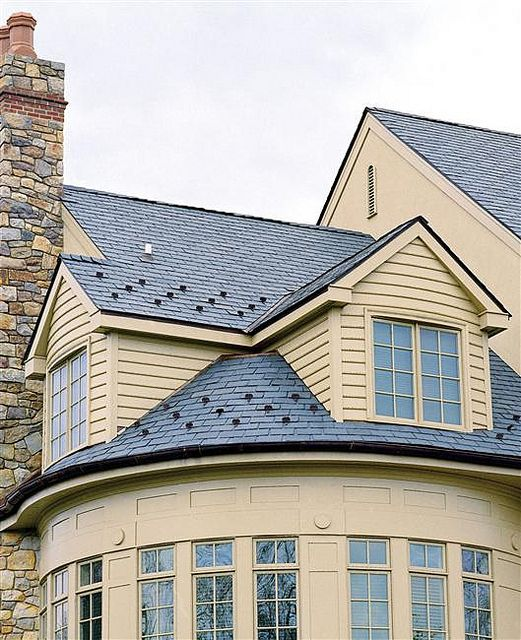 Majestic Slate Tiles Midnight Slate Roof Slate Roof Tiles Synthetic Slate Roofing