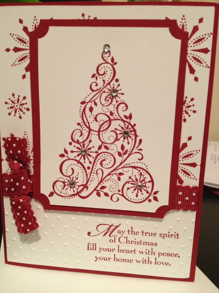 stampin up christmas cards | Stampin Up