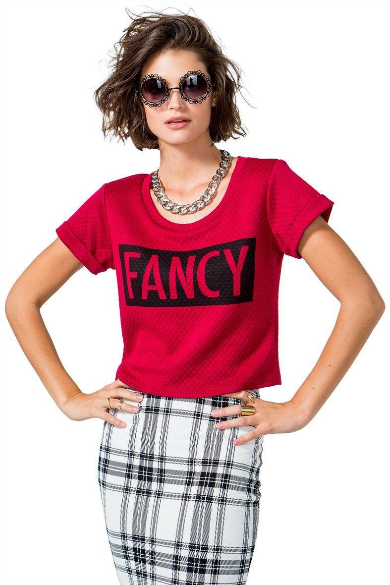 Fancy Quilt Boxy Tee I'm so fancy #AGACICRUSH #AGACIGIRL