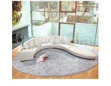 Verona Leather Corner Sofa
