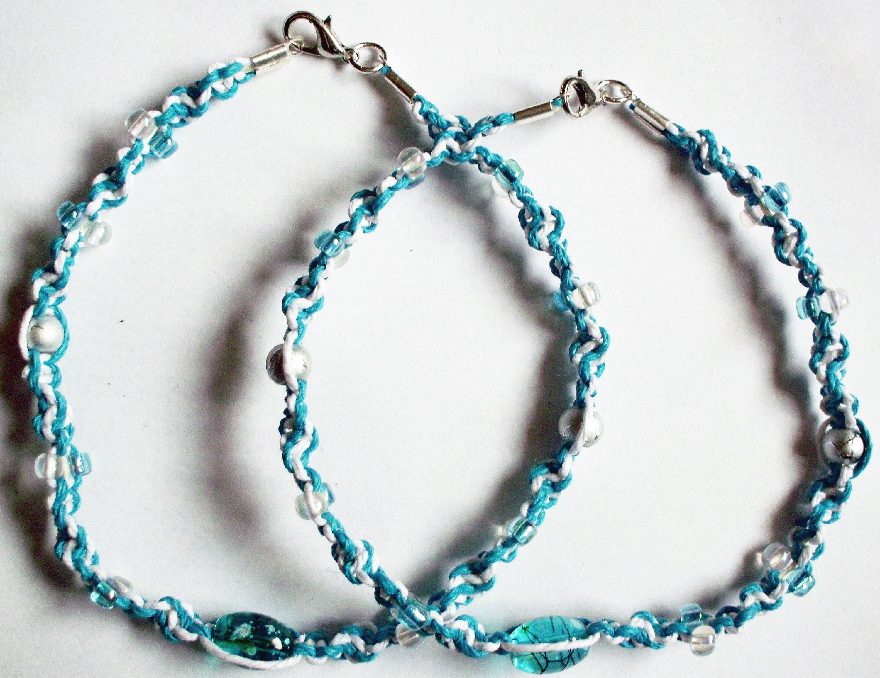 unique beaded anklet matching bracelet jewellery foot jewelry bracelets pretty ksvhs ankle beach
