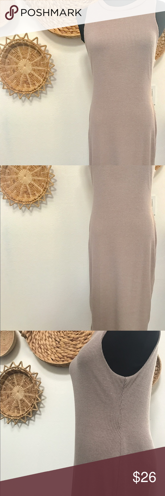 """Adorable midi length dress size large Gorgeous dress from Francesca's sailed large NWT. 40"""" long. Great stretch to the dress for fitting. Size large, made of polyester, rayon, and spandex. Very flattering on Francesca's Collections Dresses Midi"""