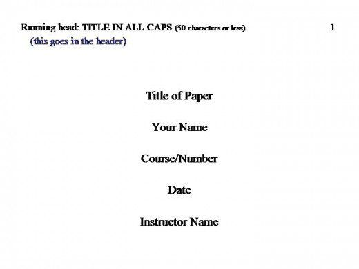 How To Cite In Apa Format Apa Title Page Example Apa Essay