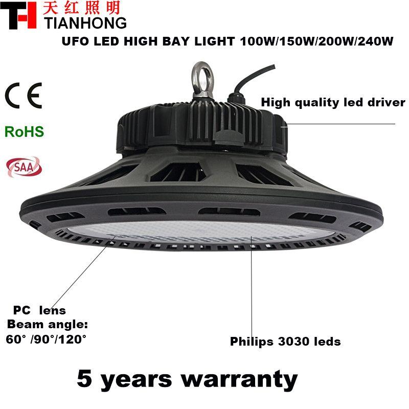 100w 160w 200w 240w Explosion Proof Ufo Led High Bay Light
