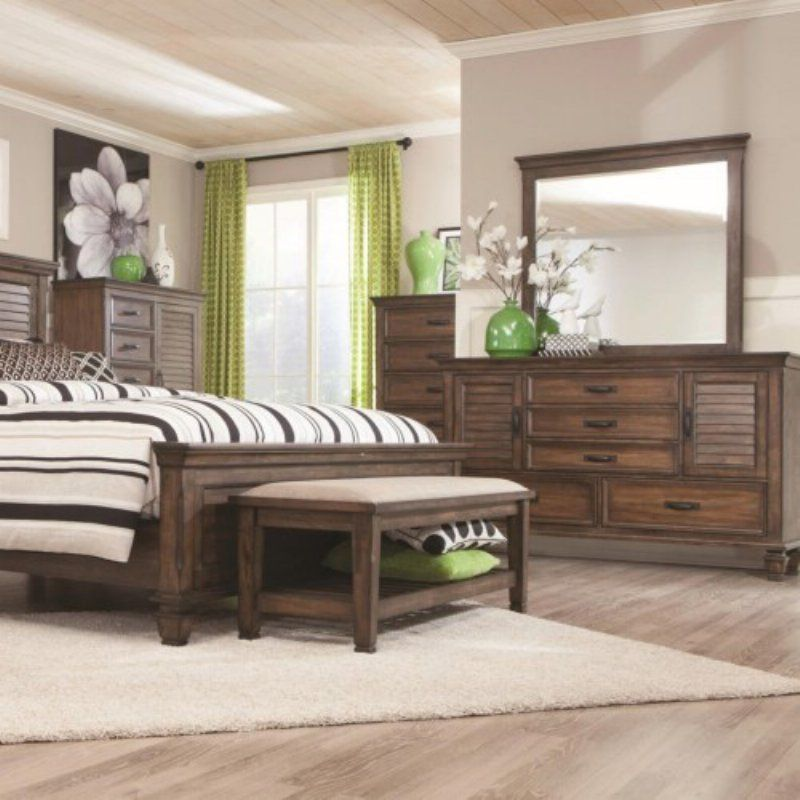 coaster furniture franco 5 drawer chest 200975