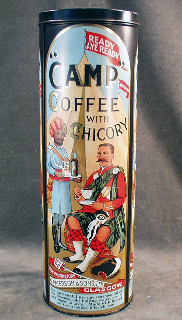74019141a72 Vintage Coffee Tin - Paterson Camp Coffee with Chicory | VINTAGE ...