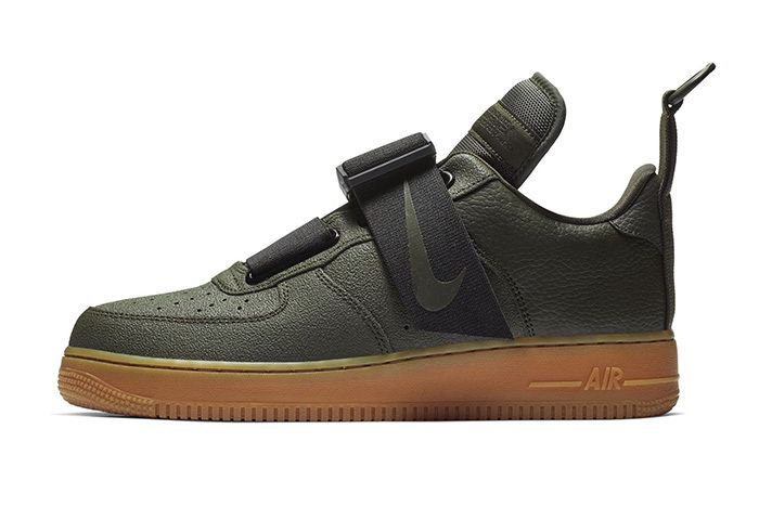 Nike S Air Force 1 Low Utility Dresses In Sequoia Sneakers