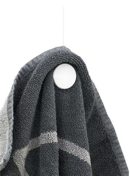 astuces rangement un porte serviette aimant original et pratique le blog de shoji astuces. Black Bedroom Furniture Sets. Home Design Ideas