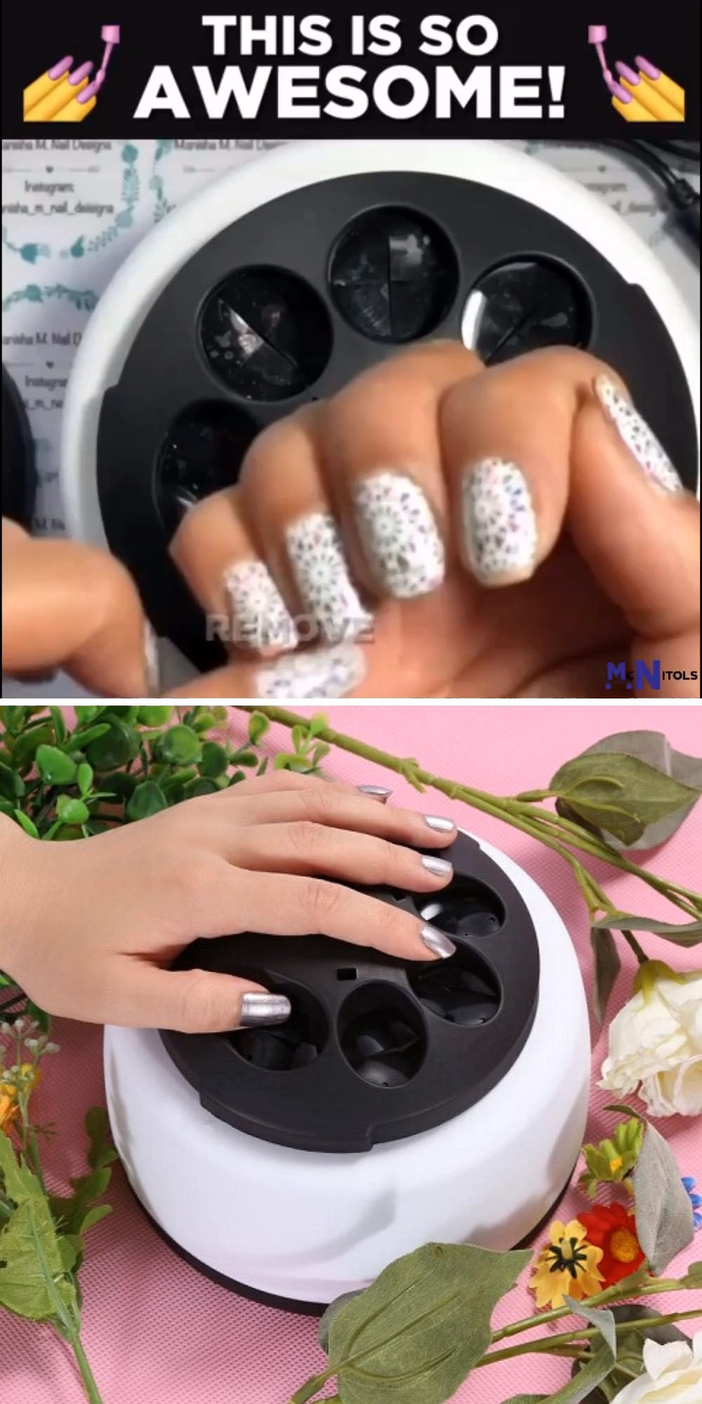 How To Remove The Gel Nail Polish Quick And Easily Gel Nail Polish Remover Machine In 2020 Gel Nails Nail Polish Gel Nail Polish Remover