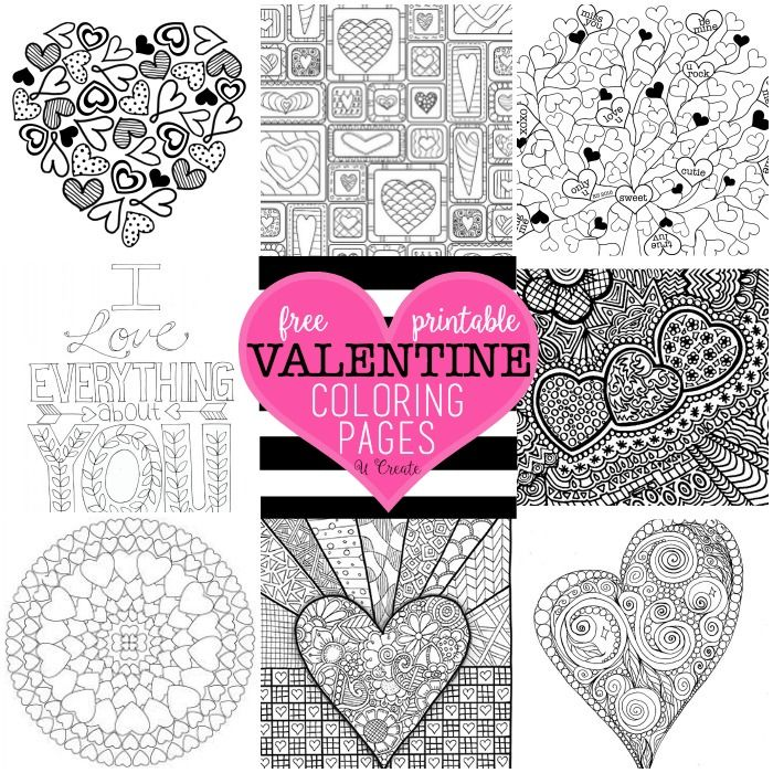 Perfect Valentines Coloring Pages Printable 84 free valentine coloring