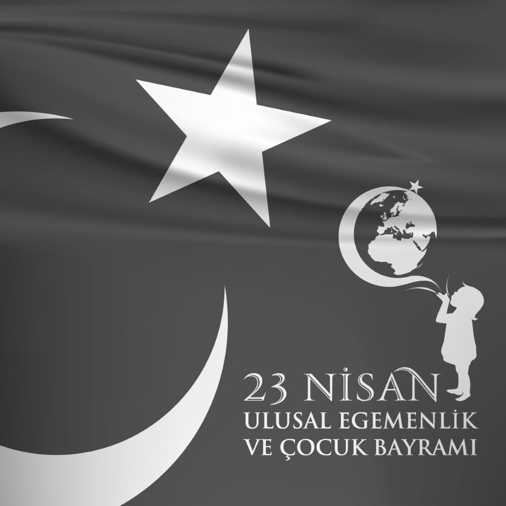 """Tüm çocukların ve her daim çocuk kalanların """"Ulusal Egemenlik ve Çocuk Bayramı"""" kutlu olsun.  ----------  23 Nisan   Biz dünyaya gelmeden  Her yeri düşman almış.  Atatürk düşmanları,  Yurdumuzdan çıkarmış   23 Nisan günü  Meclis kuruldu diye,  Büyük bayram verilmiş  Çocuklara hediye.   Gülelim eğlenelim  Kutlayalım bayramı  Verelim hep el ele  Yükseltelim vatanı.  - Melahat Uğurkan  #23nisan #23nisanulusalegemenlikveçocukbayramı #ulusalegemenlikveçocukbayramı…"""