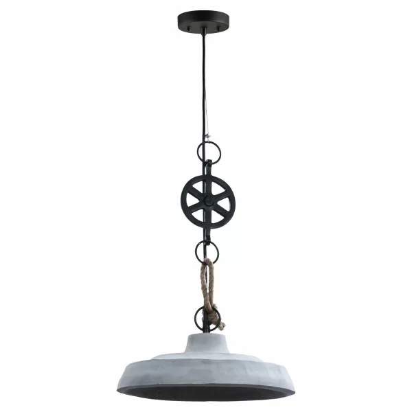 Grinnell 1 Light Single Dome Pendant Ceiling Fixtures Concrete Light Ceiling Pendant Lights
