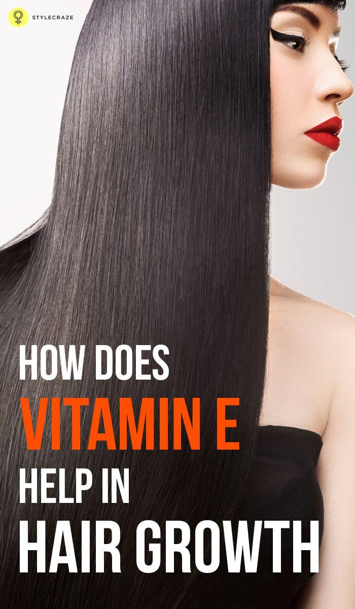 How Does Vitamin E Help In Hair Growth? Hair loss