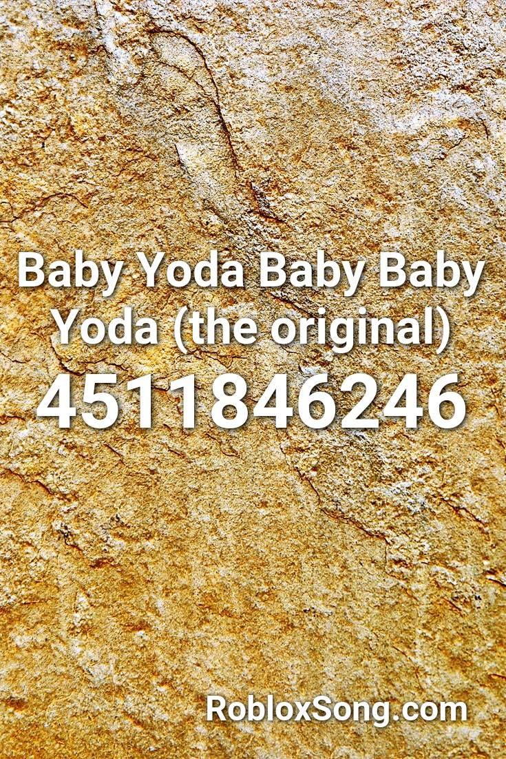 baby yoda roblox id