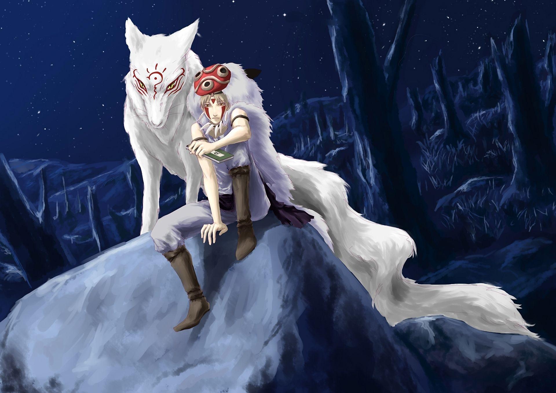 animewolveswallpaper.jpg (1920×1356) Wolves
