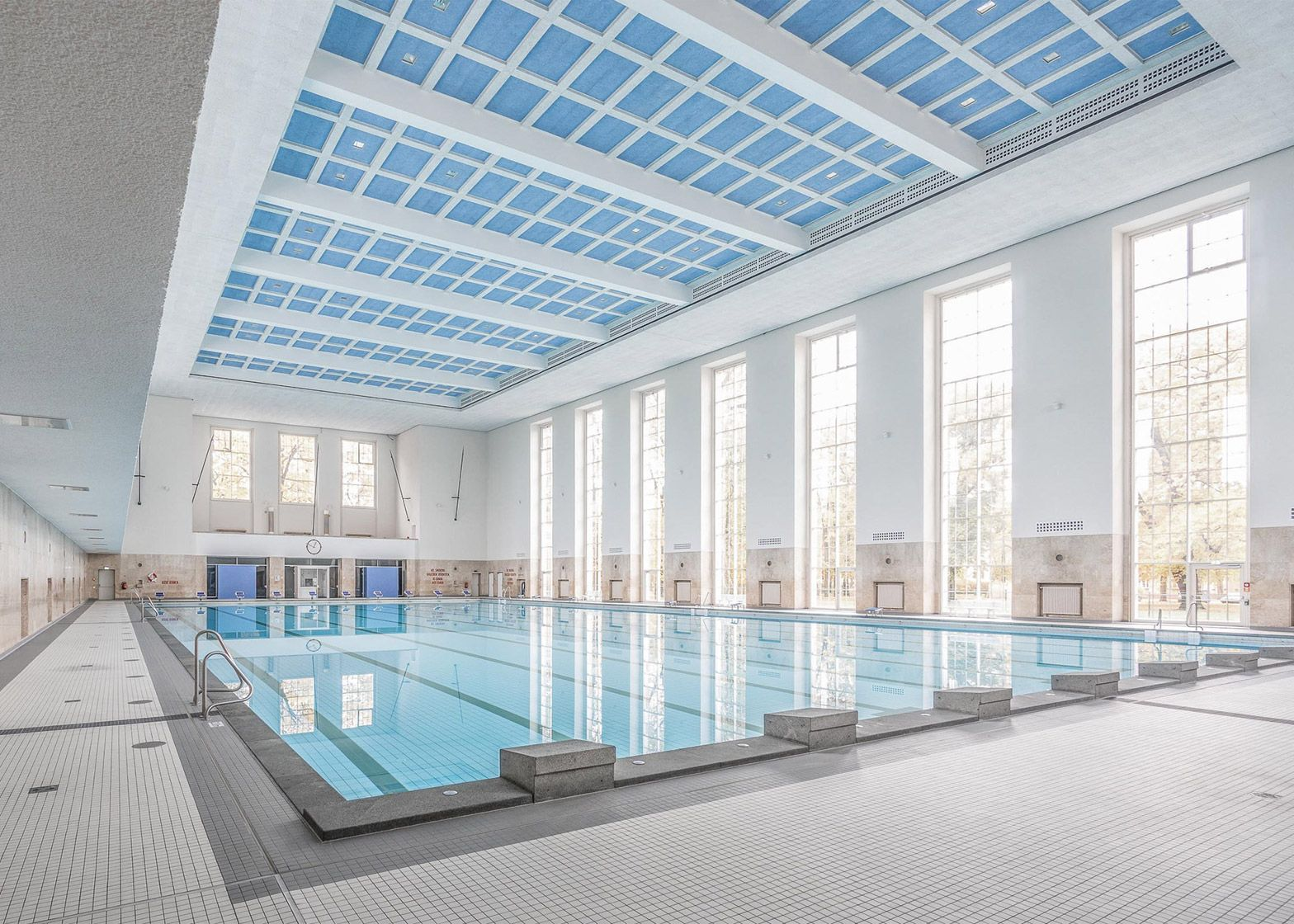 Veauthier Meyer Architects renovates Nazi-era swimming pool
