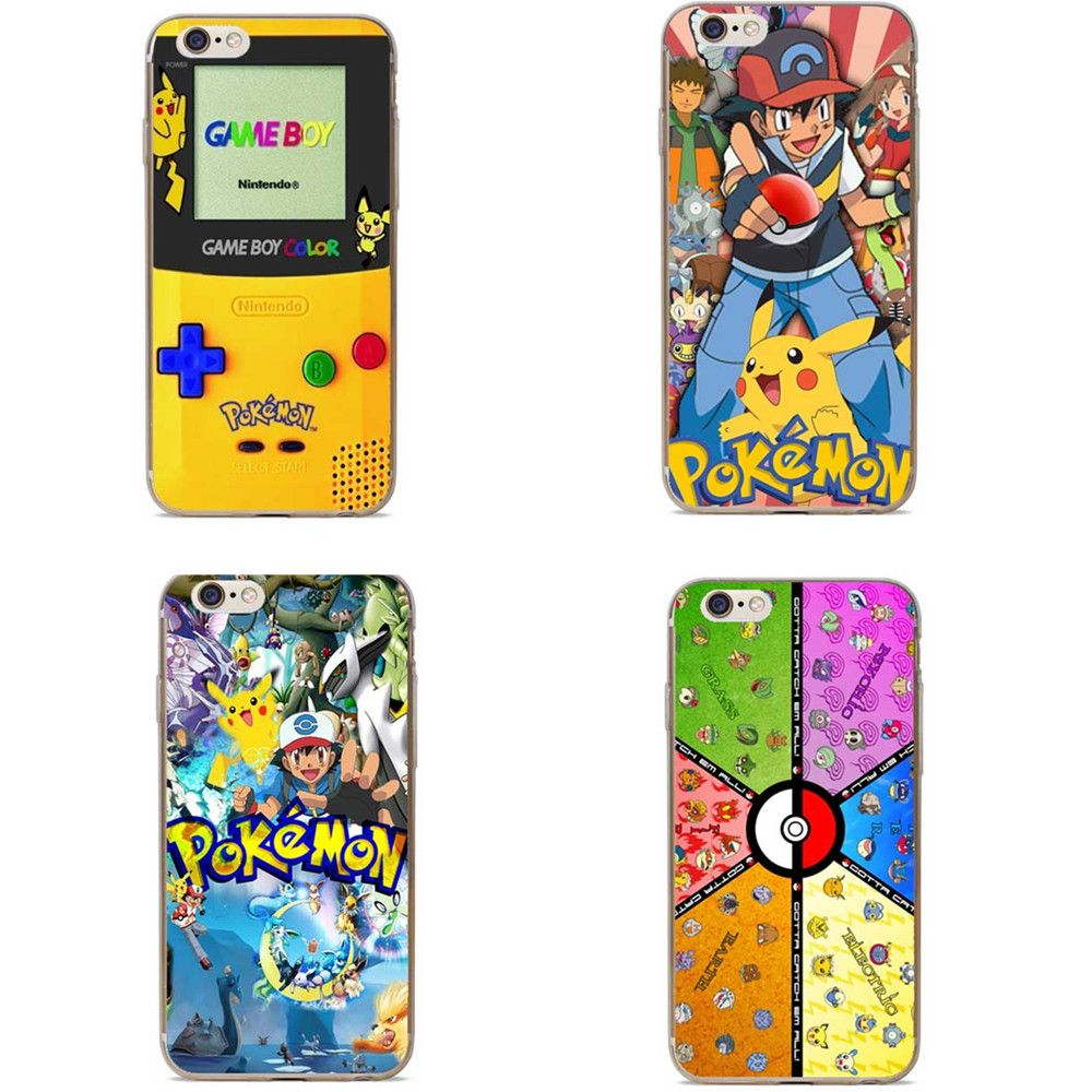 Pokemon Game Cell Phone Case For iPhone