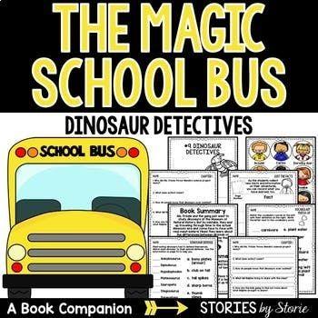 magic school bus chapter book 9 dinosaur detectives pinterest