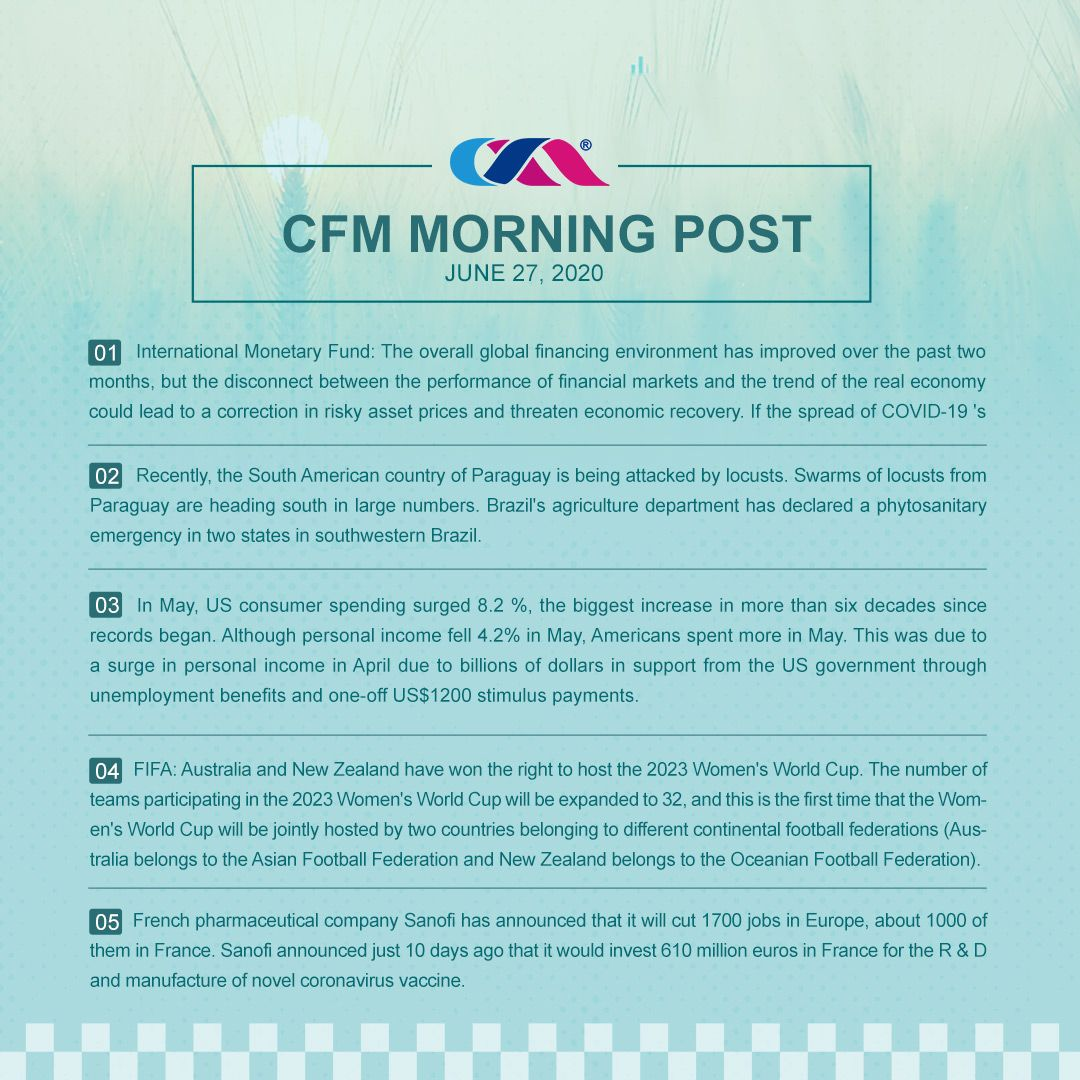 China Flag Makers Blog Cfm Morning Post June 27 2020 Morning Post Post How To Attract Customers