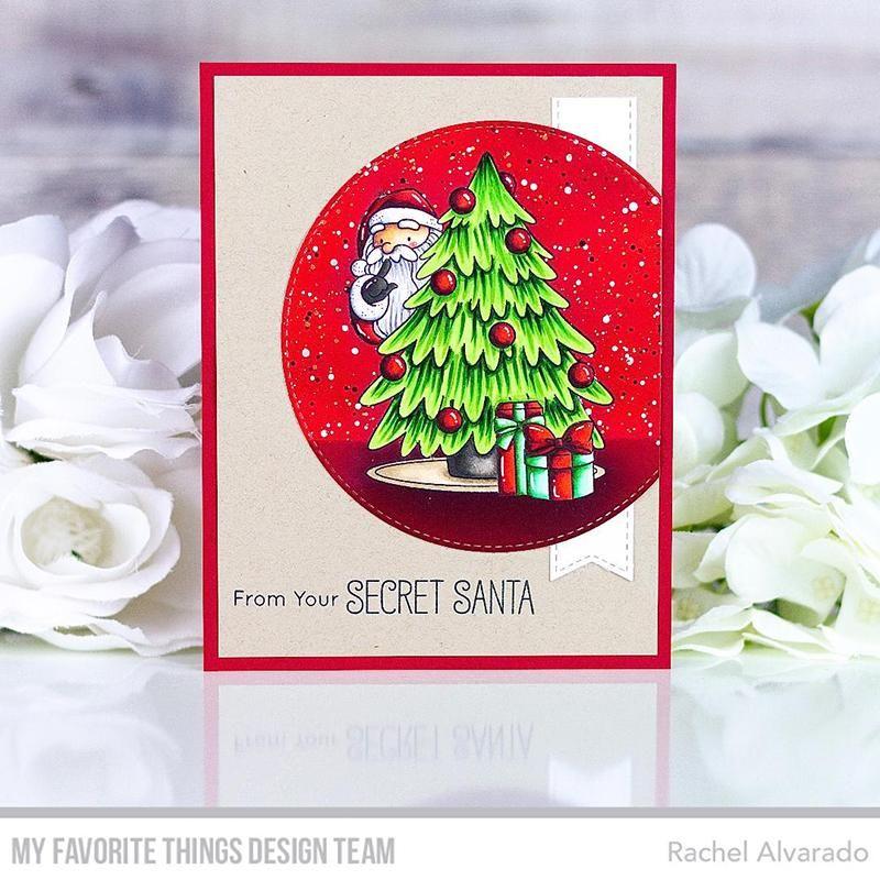 Wednesday Sketch Challenge Sketch 515 In 2020 Mft Stamps Christmas Tree Cards Secret Santa
