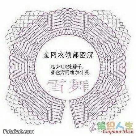 Dress crochet pattern