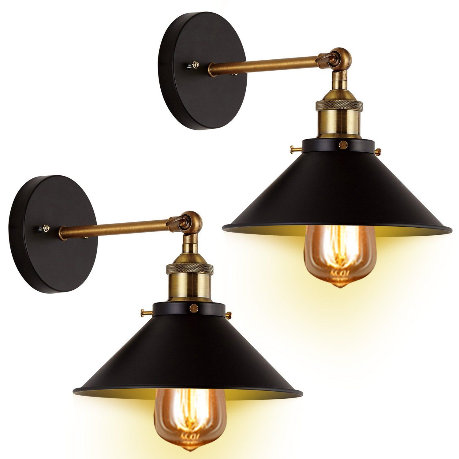 of bronze light products lighting shades sconce exposed bulb industrial
