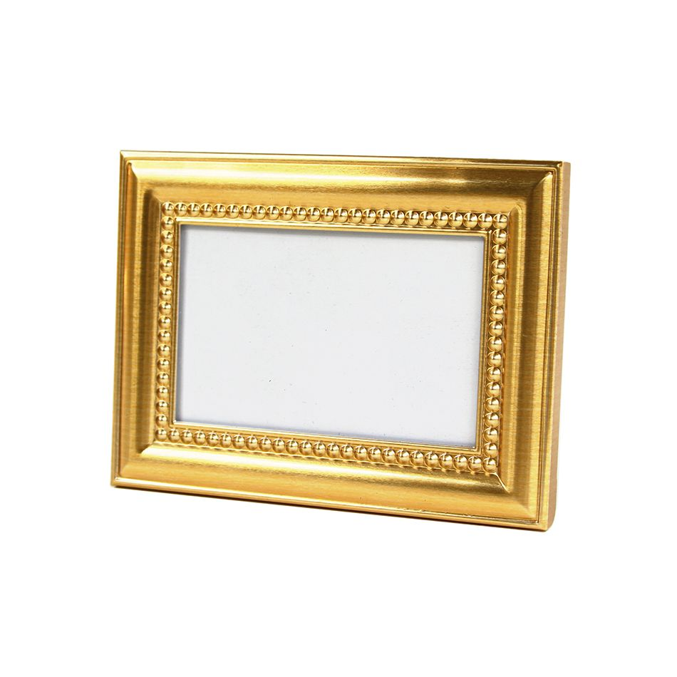 9c033d83d995 Gold Beaded Place Card Frame