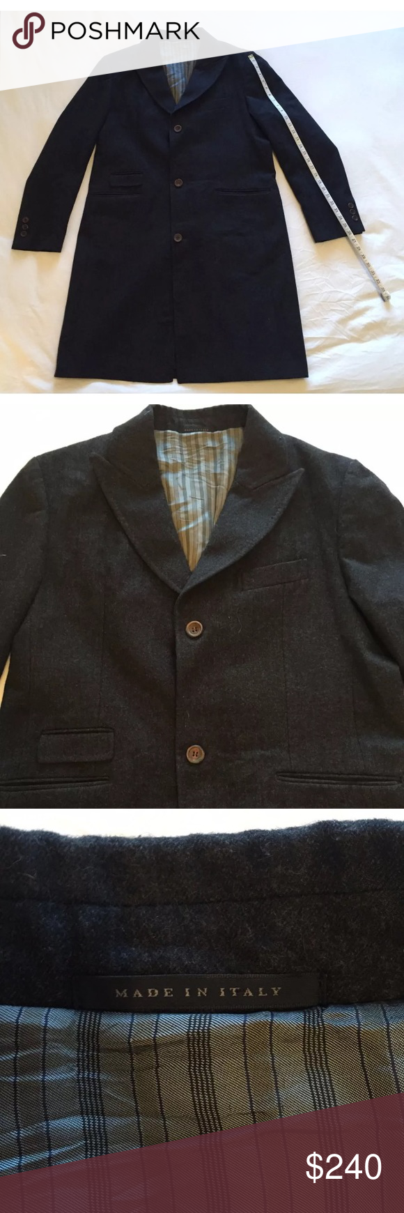 Men's Pea Coat 100 Virgin Wool Peacoat men, Clothes