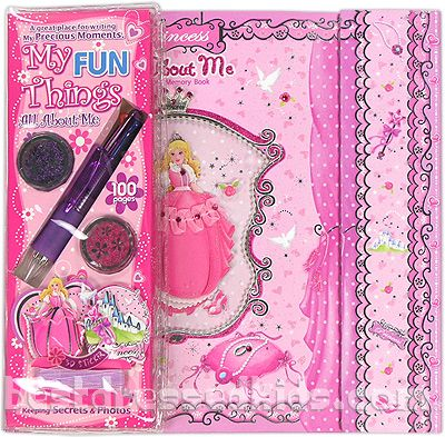 Princess All About Me Memory Book  #bestdressedkids.com