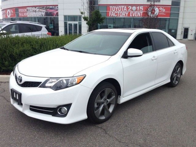 2014 Toyota Camry Se V6 Leather Fully Loaded Navigation