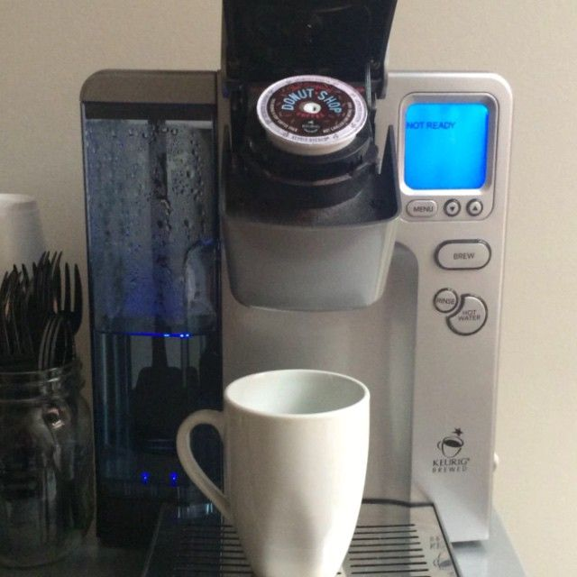 Thankful for our #Keurig especially on rainy, #autumn mornings! #cheers