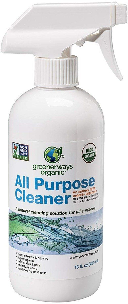 Greenerways Organic All Purpose Cleaner 16 Fo All Purpose