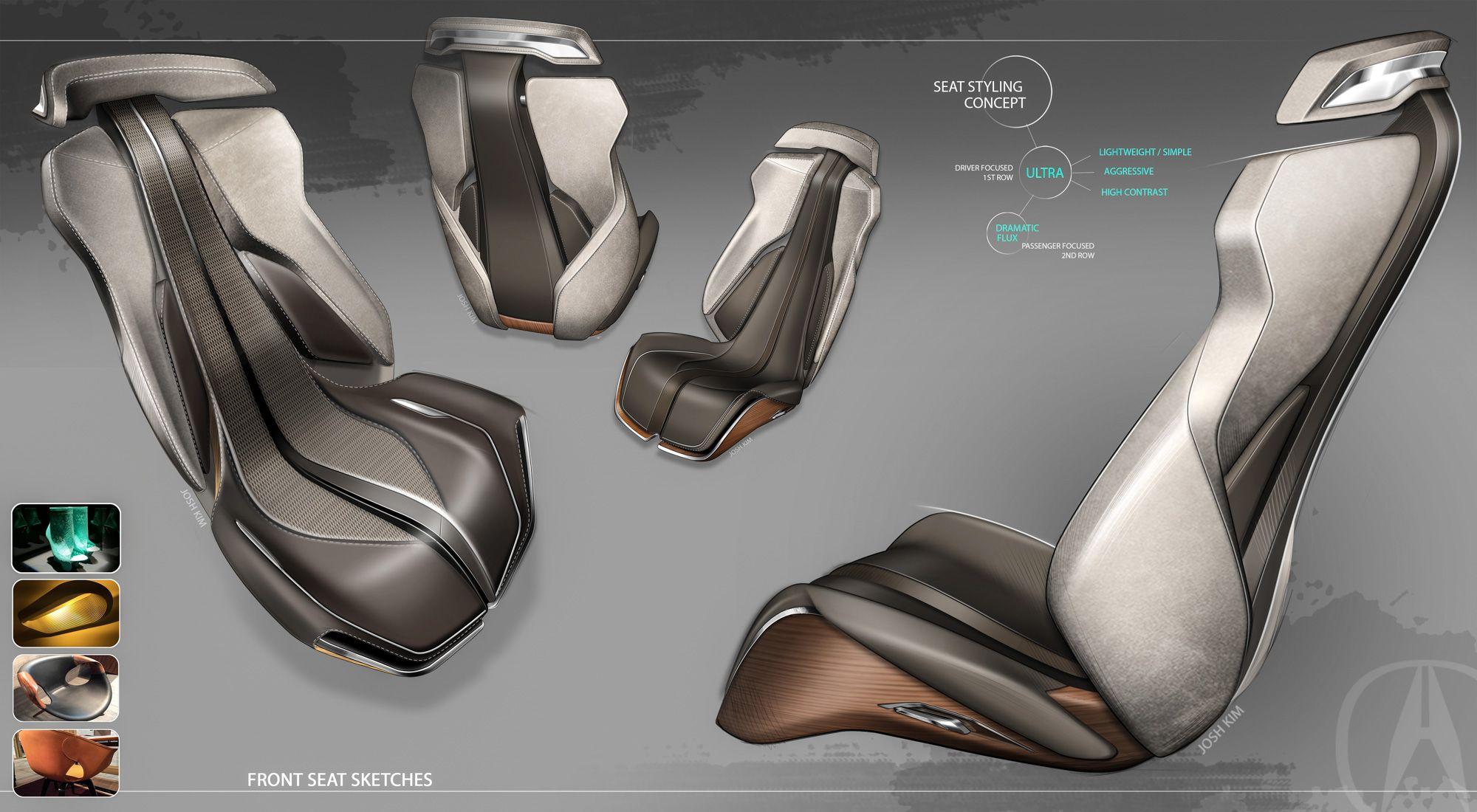 Design Development Acura Precision Concept Car Design News Car Interior Design Car Interior Sketch