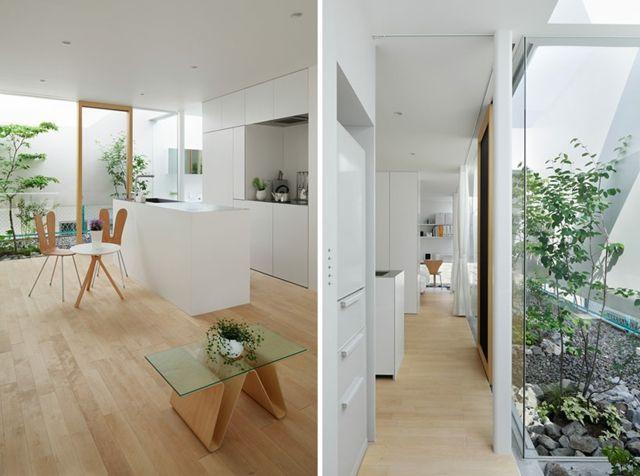 Platzsparende Einrichtung Ideen im modernen japanischen Wohnstil