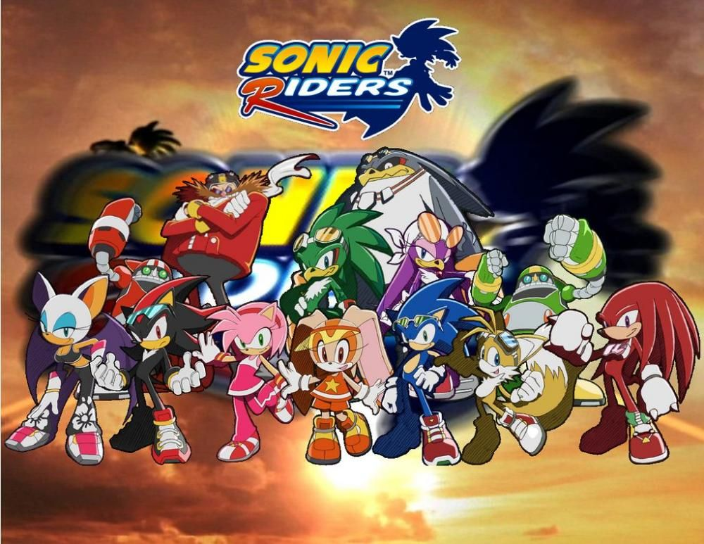 Sonic Riders Night Chase Super No HUD Blur REAL