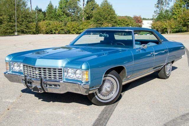 1971 Chevrolet Caprice 4 Door Carros