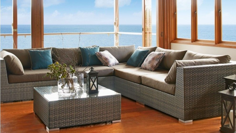 Sabina outdoor modular lounge suite outdoor lounges for Outdoor furniture harvey norman