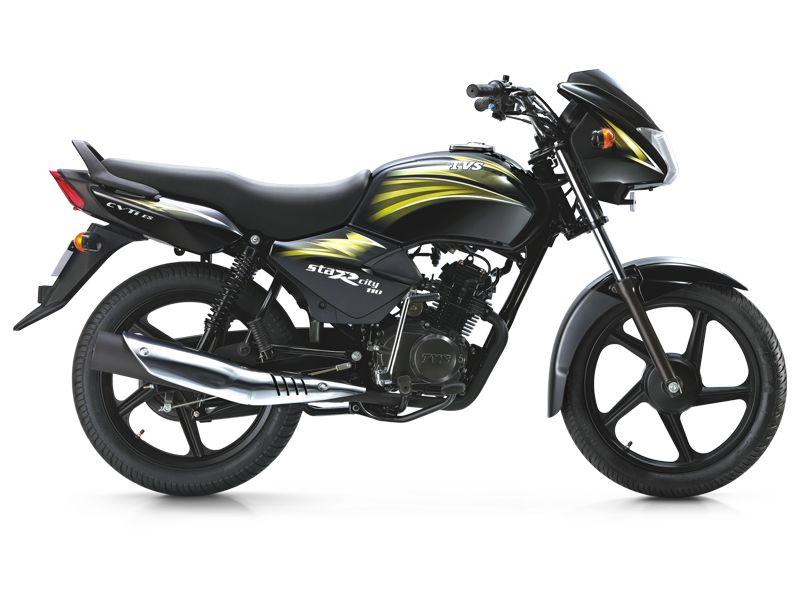 Tvs Star City 110 100cc Version Top Selling Bike Cool Bikes