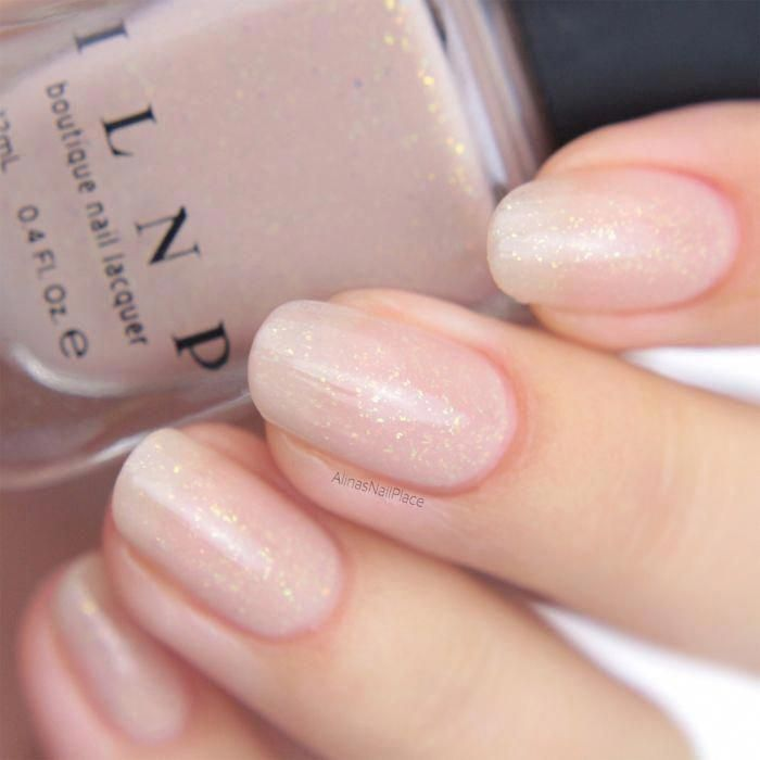 Poised - Cream Shimmer Jelly Nail Polish by ILNP