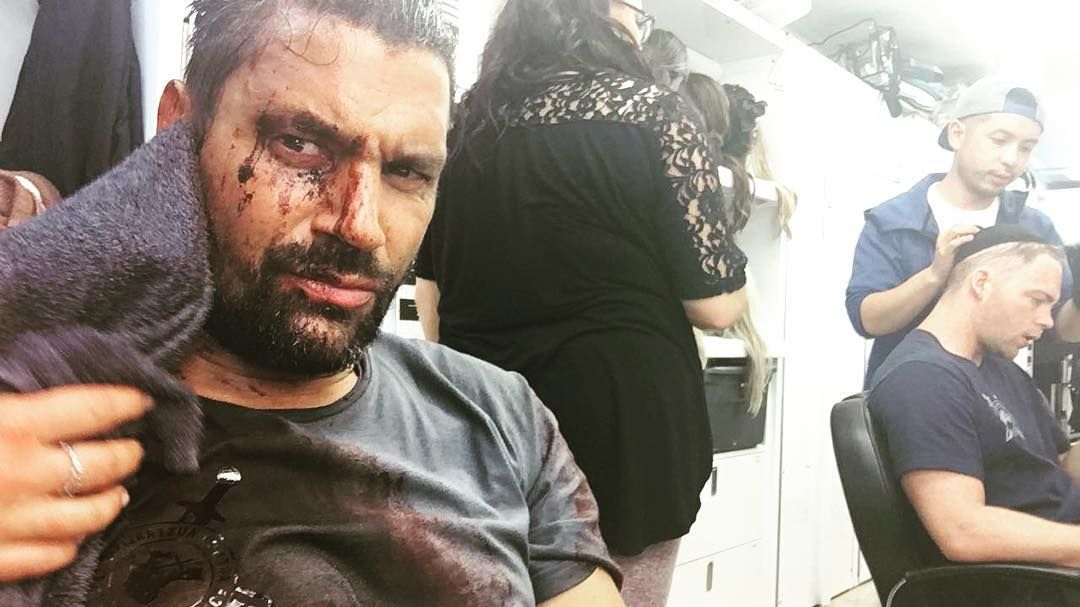 "15.6k Likes, 117 Comments - Manu Bennett (@manubennett) on Instagram: ""Every day ends different #Arrow #Deathstroke"""