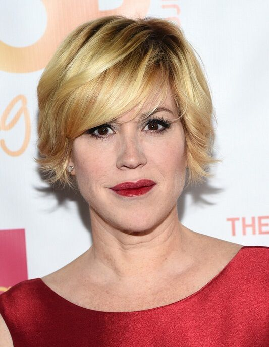 Easy Short Hairstyles Latest Layered Razor Cut For Women From Molly Ringwald  Easy Short
