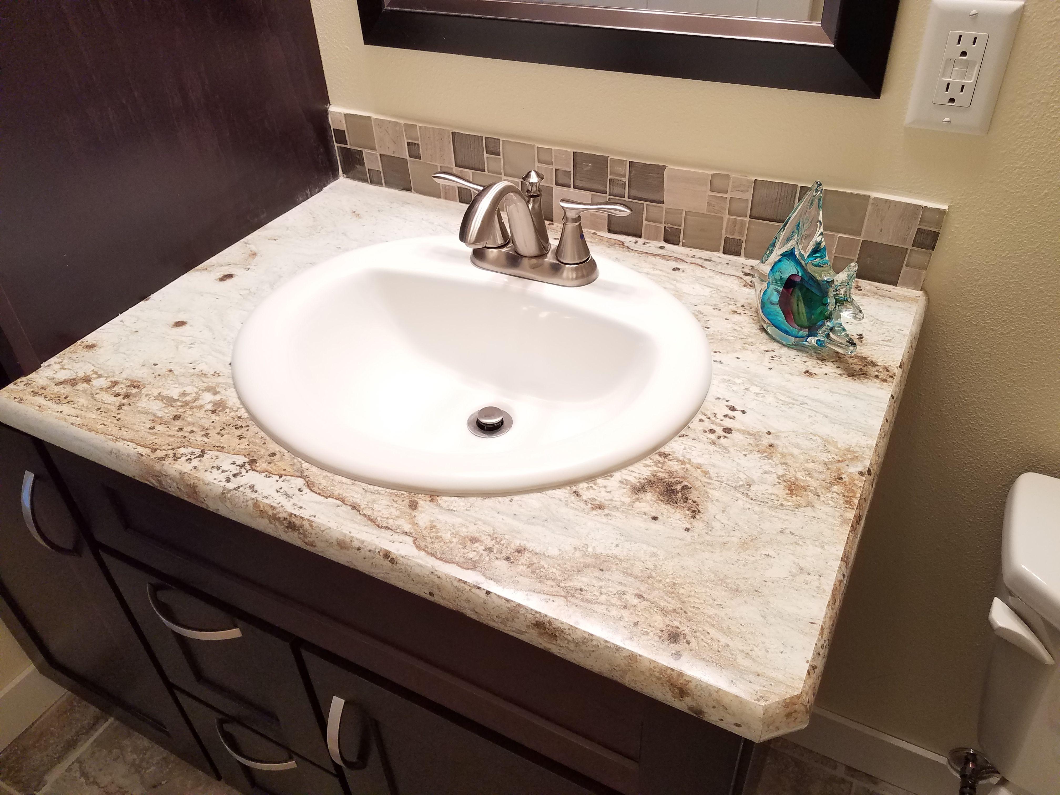 Marvelous River Gold Laminate Countertop Bathrooms Home Decor Interior Design Ideas Inamawefileorg