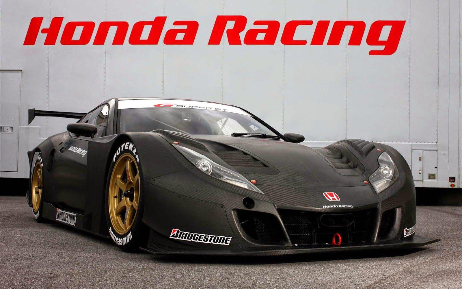 Honda Super GT Racer Free Wallpaper ~ Auto Cars