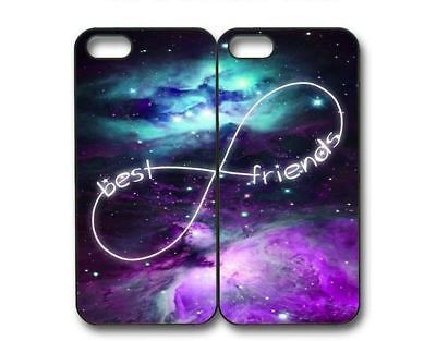 Custom Impeccable Purple Nebula BFF Best Friends Case -2 H … – BFF