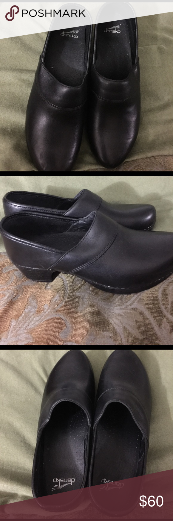Shoes Black leather Dansko from The