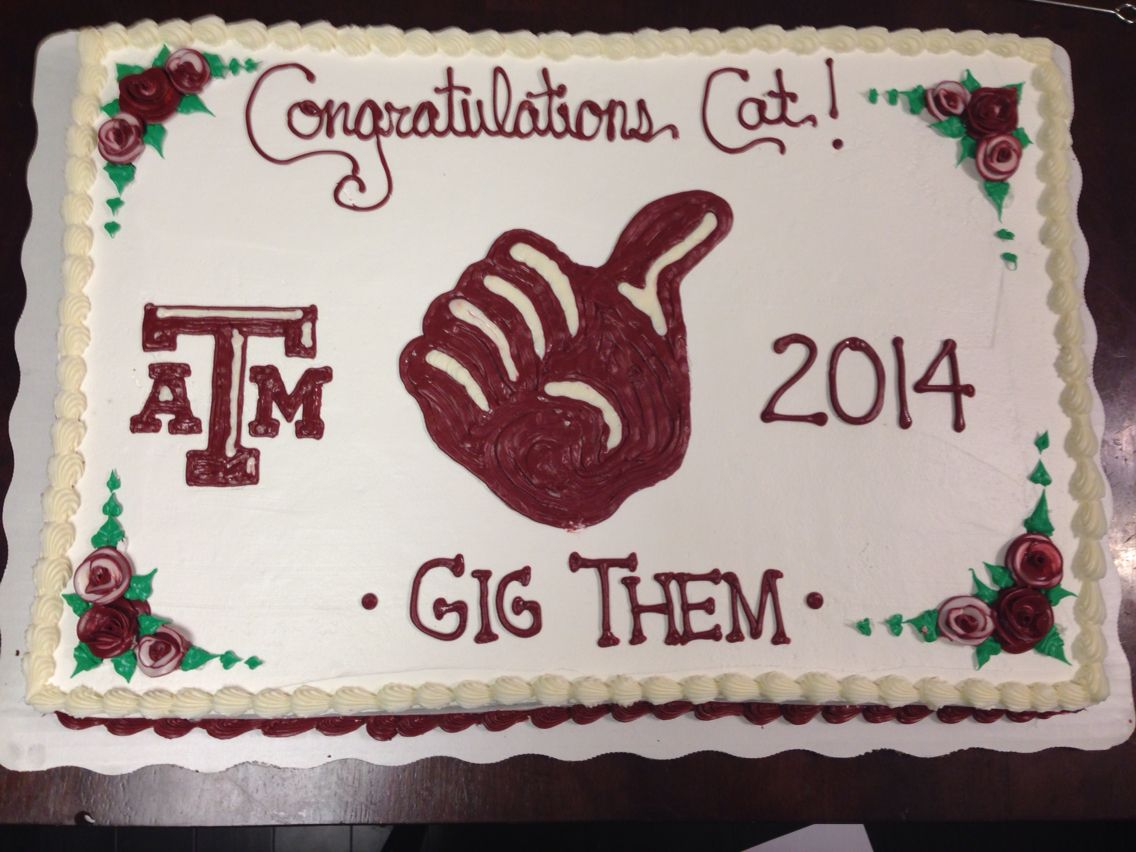 Texas A&M cake | My Decorated Cakes | Pinterest | Texas, Cake and ...