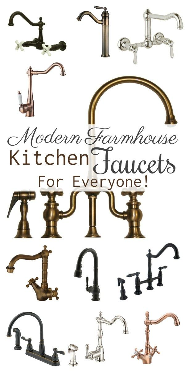 modern farmhouse kitchen faucets for