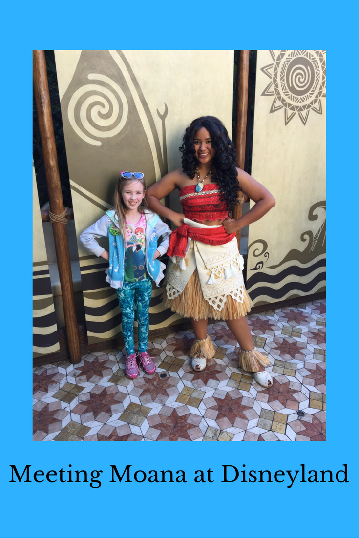 Meeting Moana At Disneyland Disney Divas Disneyland Trip Planning